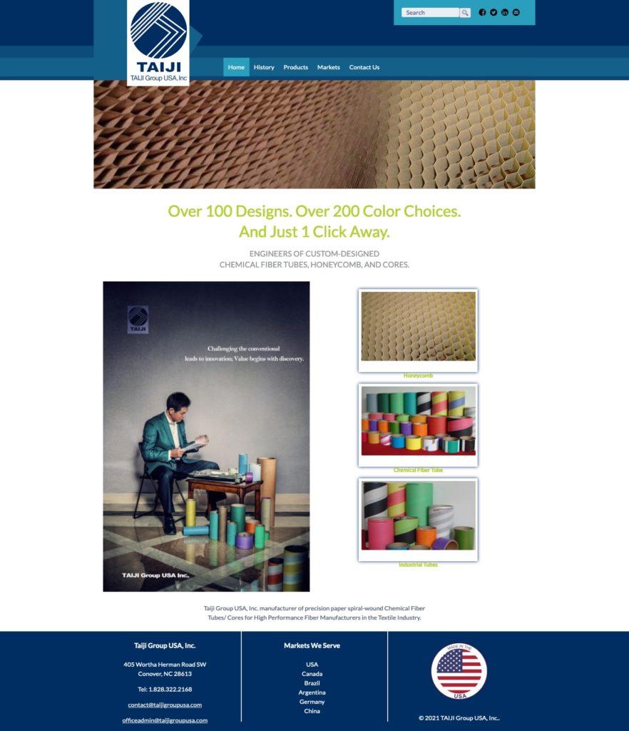 Taiji Group USA; Home Page